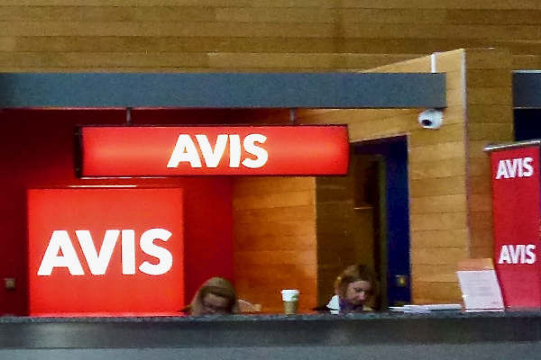 Avis Car Hire Desk Cork Airport