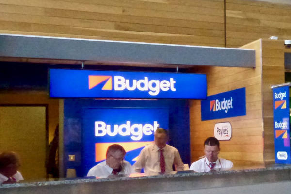 Budget Car Hire Desk Cork Airport