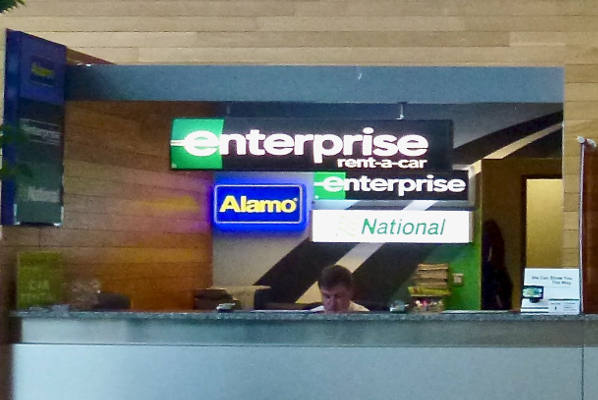 Enterprise Car Hire Desk Cork Airport