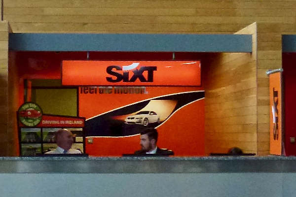 Sixt Car Hire Desk Cork Airport
